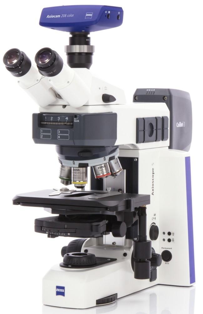 Zeiss Axioscope 5 seitlich